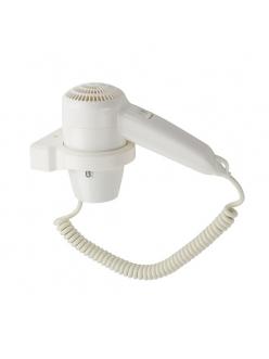 Фен для волос в ванную комнату с кольцевым креплением 1200W, код: 6821