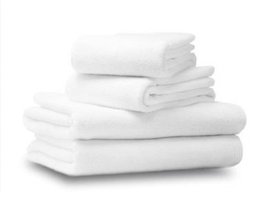 Купить белые махровые полотенца для гостиниц и отелей в Краснодаре